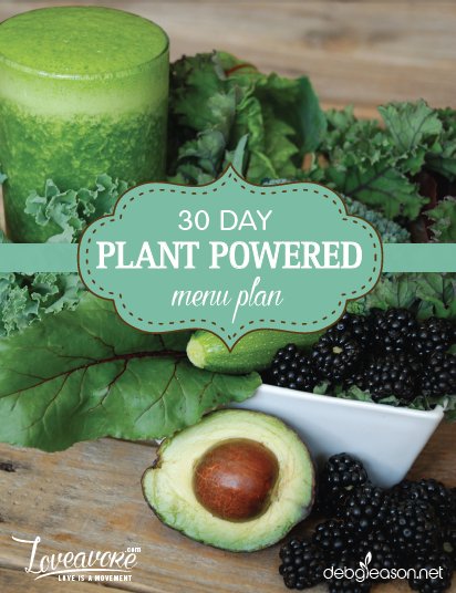 30 Day Plant Powered Menu Plan