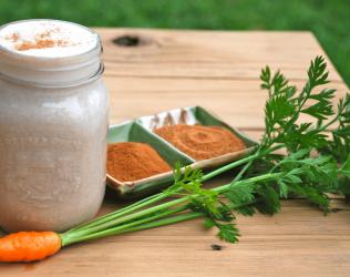 Cashew Carrot Cake Milk