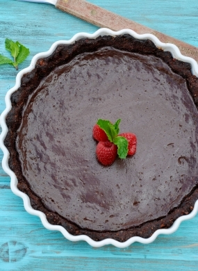 Chocolate Tofu Cheesecake