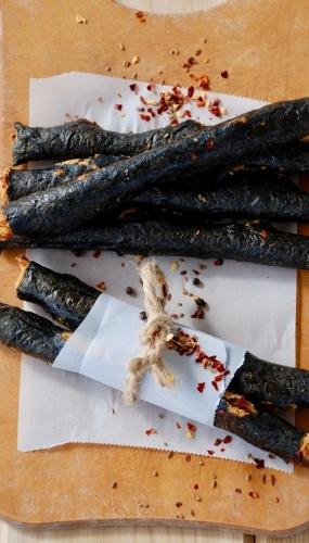 Vegan Pepperoni Sticks