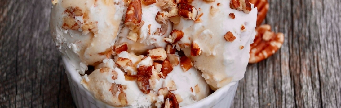 Maple Pecan Coconut Ice Cream
