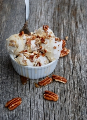 Maple Pecan Coconut Ice Cream