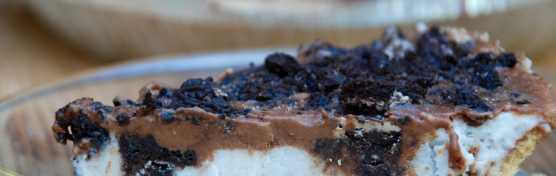 Oreo Ice Cream Pie