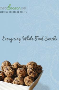 Energizing Snacks Virtual Cookbook