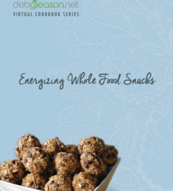 Energizing Snacks Virtual Cookbook