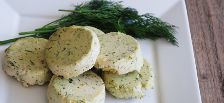 Vegan Cashew Dill Cheese