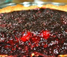 Ocean's Blackberry Pie