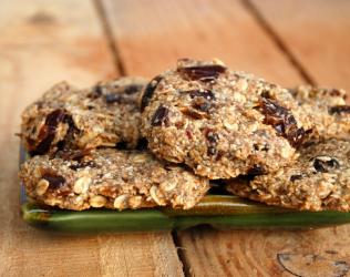 Date Square Cookies (Vegan, GF)